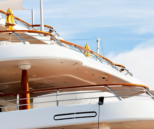 management of technical services for yachts and boats